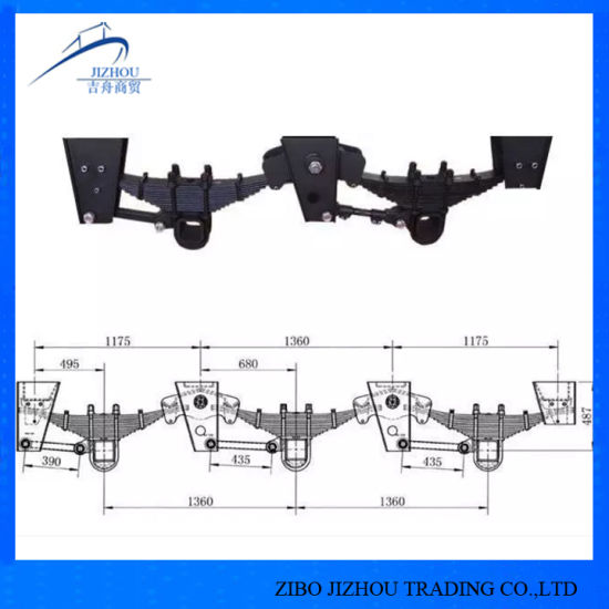 Germany Type Trailer Parts Suspension for Truck and Trailer
