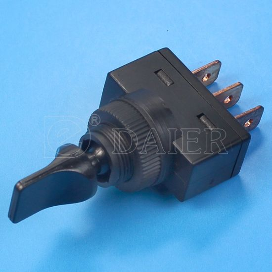 Automotive on off on Toggle Duck Bill Switch (ASW-14-103) pictures & photos