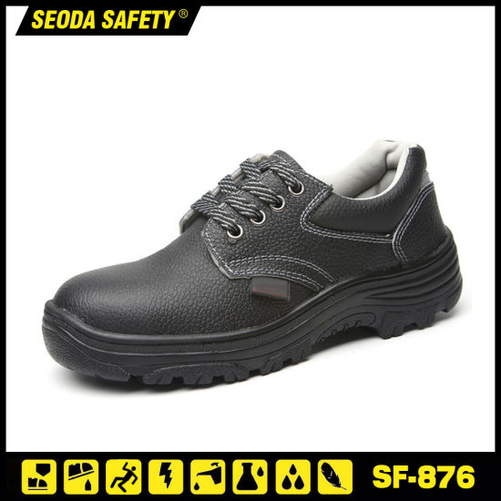 Instock Low Cut Safety Work Shoes with Reflective Stripe