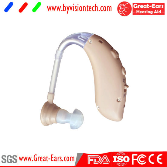 Rechargeable Hearing Aids for Deaf Men and Women pictures & photos