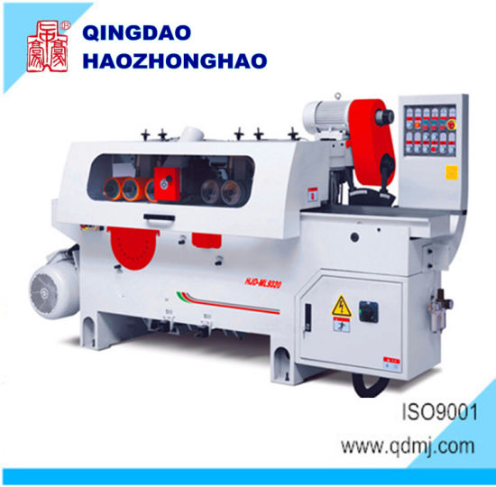 Double Side Planer Multiple Rip Saw Cutting Machine