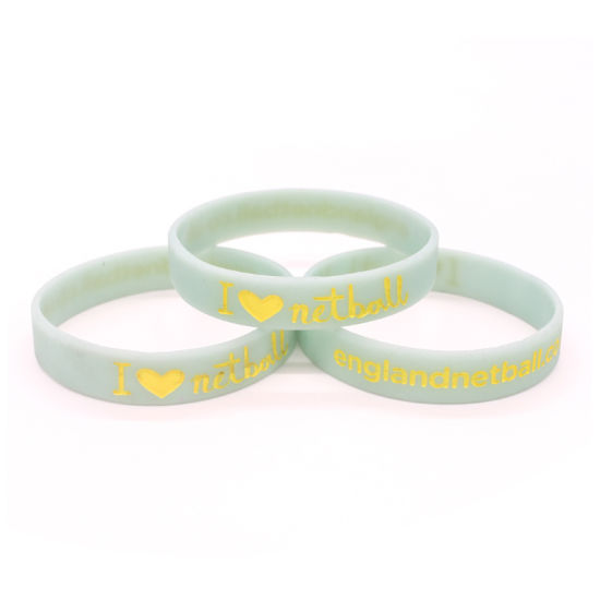Wholesale Fabric RFID Silicone Wristband Gift Gift ID Keychain Logo pictures & photos