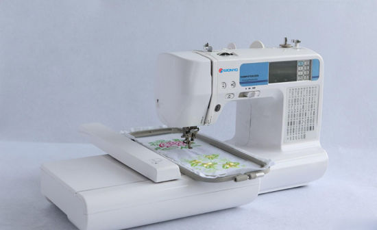 Tajima Embroidery Machine Parts Wonyo Household Computerized Embroidery Machine for Home Use pictures & photos