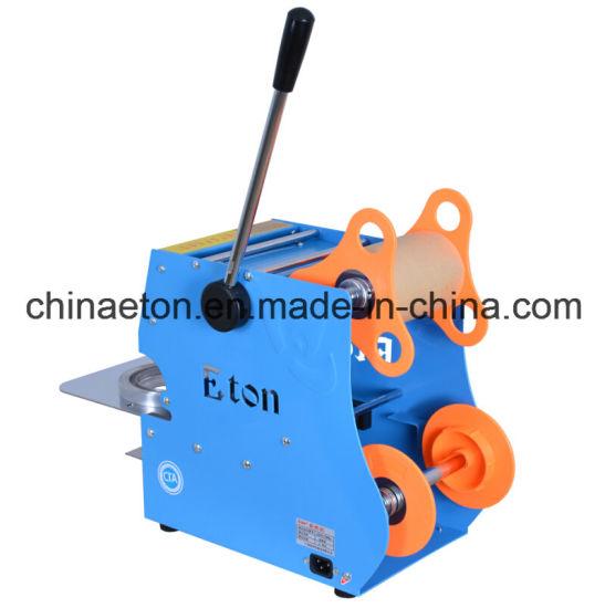 Eton Brand Manual Sealing Machine for Big Tea Cup Et-D6