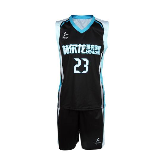 3e8227db7 Healong Youth Collage Team Basketball Jerseys Custom Basketball Uniform  Wholesale pictures   photos