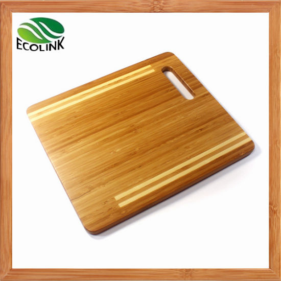 Natural Durable Bamboo Cutting Board pictures & photos