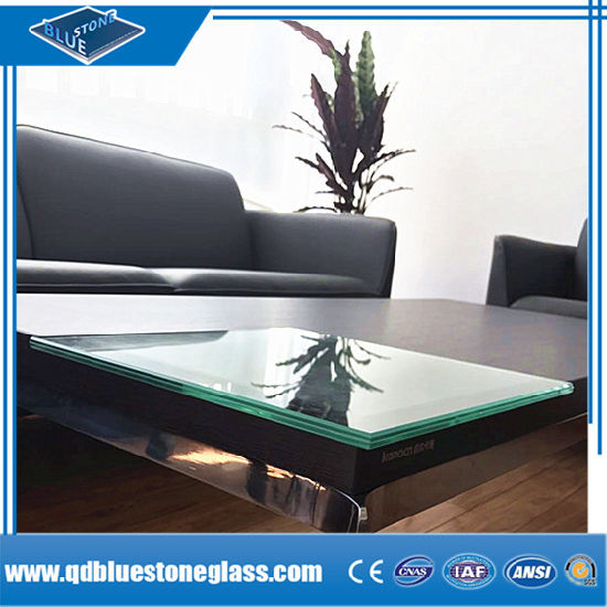 Manufactured Clear and Color Laminated Safety Glass with Bronze PVB of ISO9001 Standard