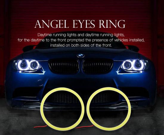 Led Lights For Cars >> Cob 1 9w Car Led Lights Cob Angel Eyes Ring Lighting China Auto