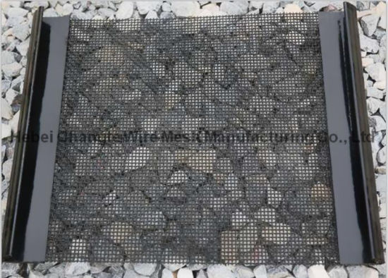 Galvanized Wire Mesh Sand Screen Harp Type T Self - Cleaning Metal Screen Mesh