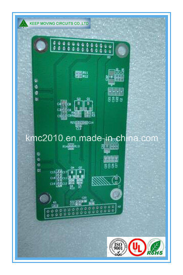 2-Layer Fr4 Green Soldermask White Silkscreen PCB Board pictures & photos
