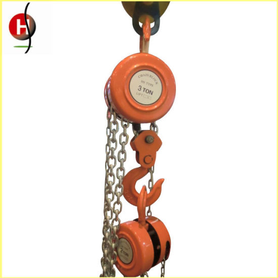 Durable Hsz Manual Chain Block pictures & photos
