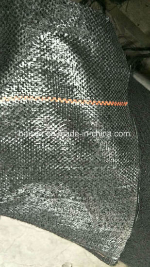 Competitive Price Black PP Woven Geotextile Weed Control Mat pictures & photos