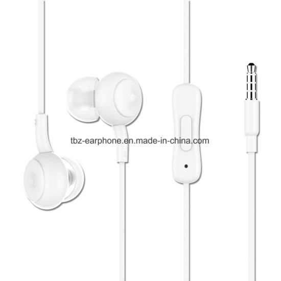 2018 New Design in-Ear Headphone with Mic for iPhone&Android