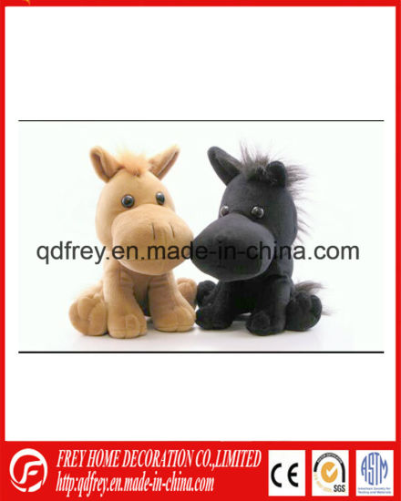 Cute Plush Soft Baby Horse Toy with CE pictures & photos