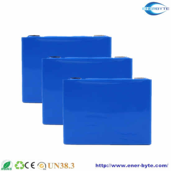 Li Fe Po4 LiFePO4 Battery Cells 3.2V 100ah with Alumium Casing