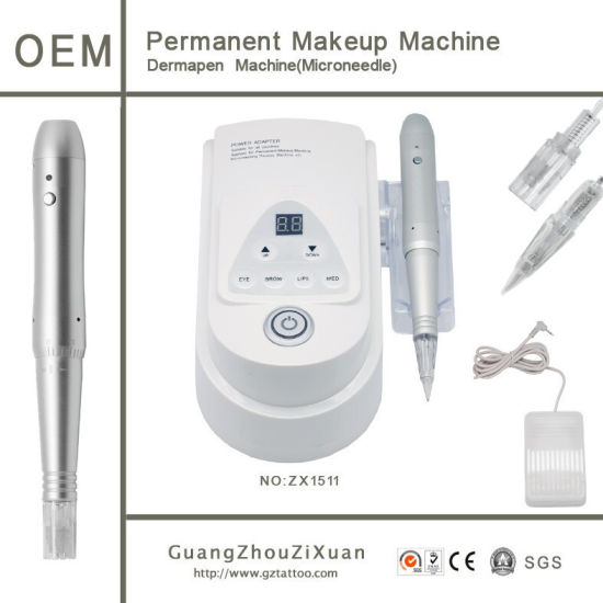 Digital Control Panel Semi Permanent Makeup Tattoo Machine pictures & photos