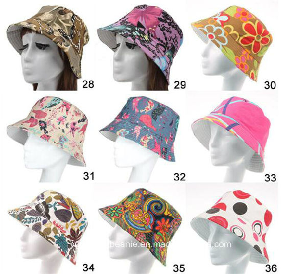 Fashion 35colors Camping Cap Women Hiking Fishing Stylish Bucket Hats pictures & photos