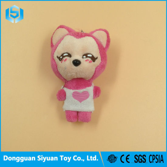 Popular Cute Cat Keychain Soft Plush Toy for Promotion pictures & photos