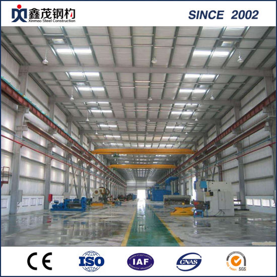 China Steel Frame Construction Building with H Section Steel pictures & photos
