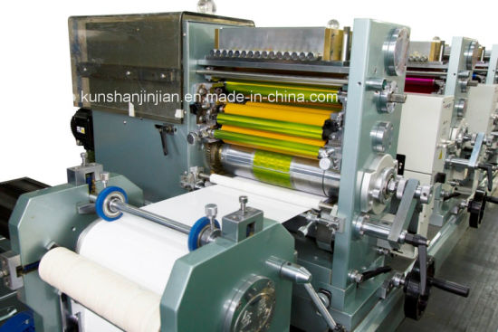 Roll to Roll Intermittent Label Printing Press for Jk280 pictures & photos