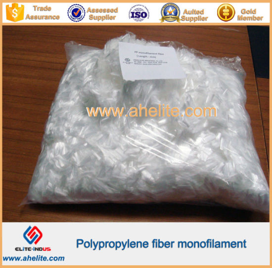 Monofilament PP Cement Fiber pictures & photos