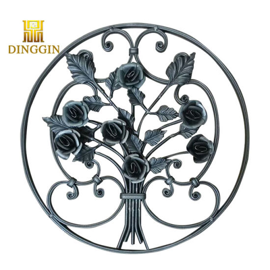 Wrought Iron Ornaments/Cast Iron Products/Cast Iron Ornamental pictures & photos