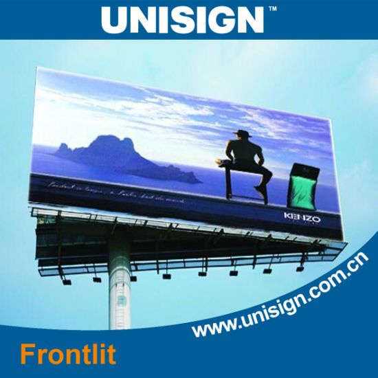 PVC Coated Frontlit Banner pictures & photos