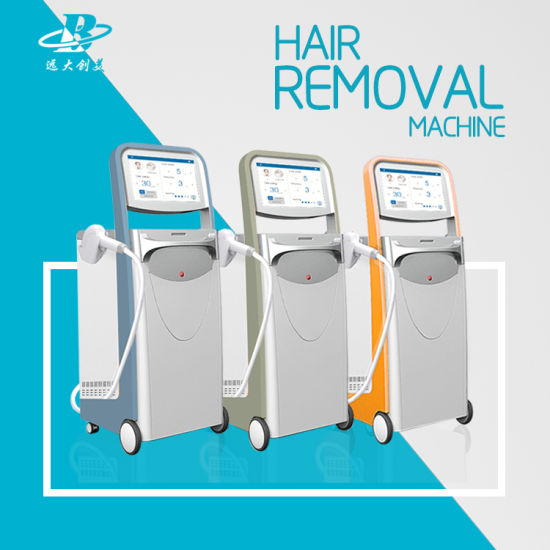 Alexandrite Soprano Hair Removal Machine Three Wavelengths Diode Laser pictures & photos
