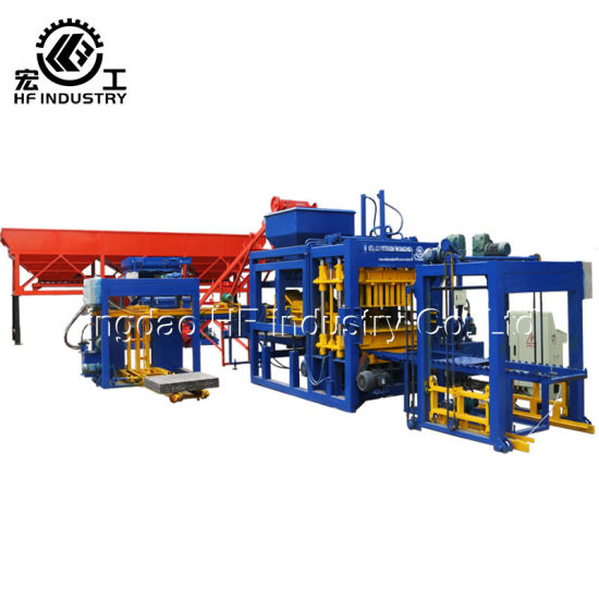 Qt8-15 Automatic Hollow Solid Paver Concrete Brick Block Making Machine pictures & photos