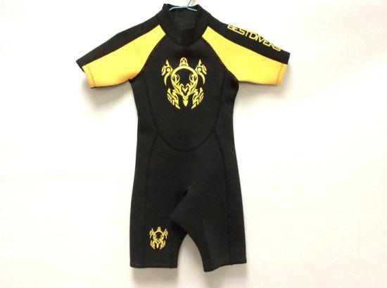 China Kid′s Neoprene Shorty Wetsuit (HX-S0070) - China Wetsuit ... afe3b8b23