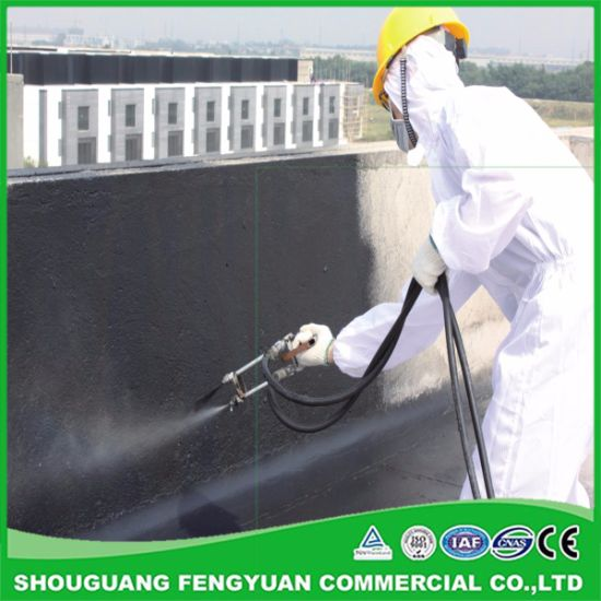 China Spraying Paint Quick-Setting Water-Based Rubber Bitumen