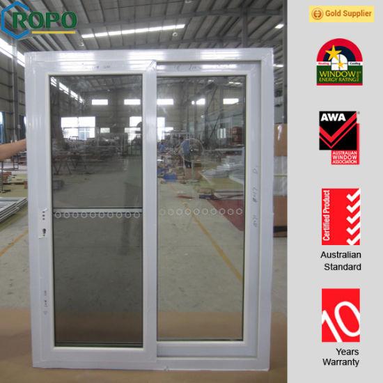 China Horizontal Sliding Door Vinyl Insulated Glass Doors For House