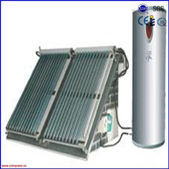 CE/Solarkeymark Solar Energy Hot Water Heater System with Heat Pipe