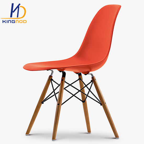 Popular Modern Design Colorful Dining Chair PP Plastic Eames Dsw/Dsr Chair