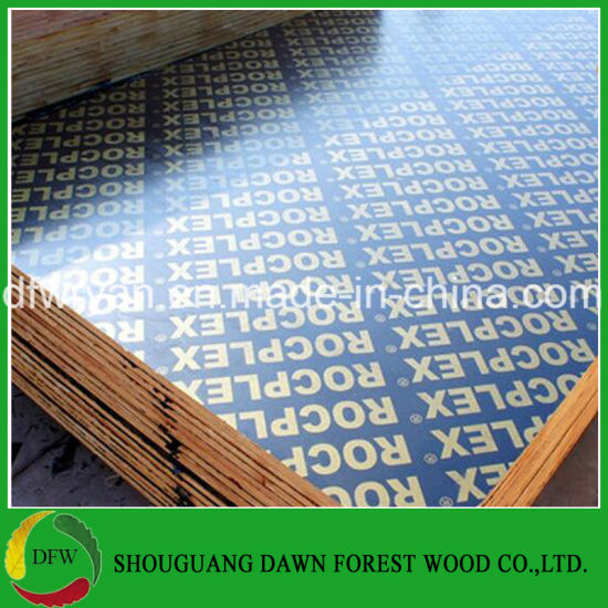 18mm WBP Film Faced Plywood From Shandong Plywood Factory pictures & photos