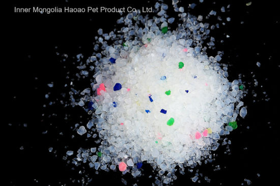 Lavender Unclumping Silica Gel Litter (SG04) pictures & photos