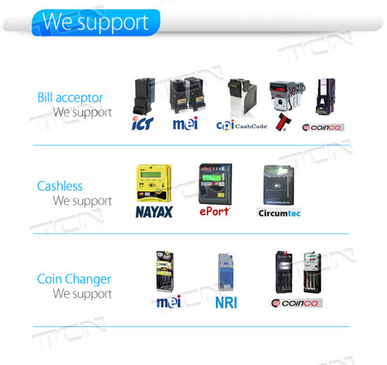 China Ce Certified Bill and Coin Acceptor Automatic Vending