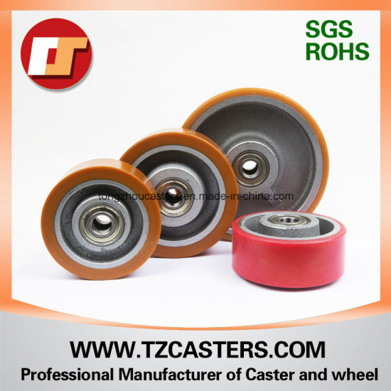 Polyurehtane Wheel with Cast Iron for Forklift