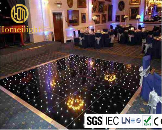 Acrylic Twinkling Wedding Party LED Star Dance Floor pictures & photos