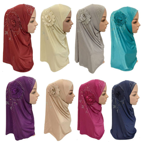 China Islamic Ladies Head Scarf Headwear Muslim Hijab Inner