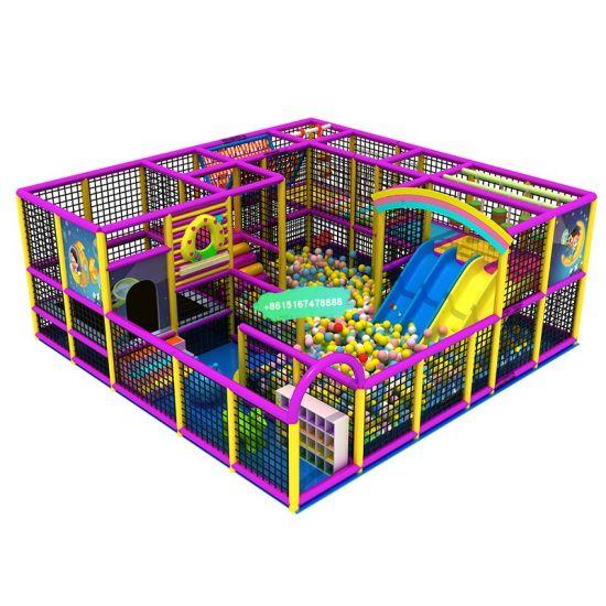 Commercial New Indoor Children Fun Amusement Park Equipment Indoor Playground for Sale