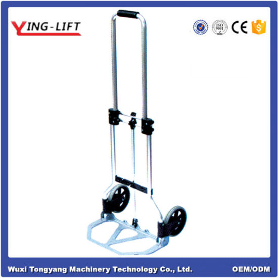 2 Wheels Aluminum Foldable Hand Trolley Ylj50 pictures & photos