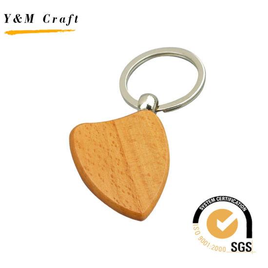 Promotionalc Custom Logo Wooden Key Ring Supplier Wholesale