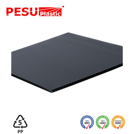 China Corrugated Plastic Sheets For