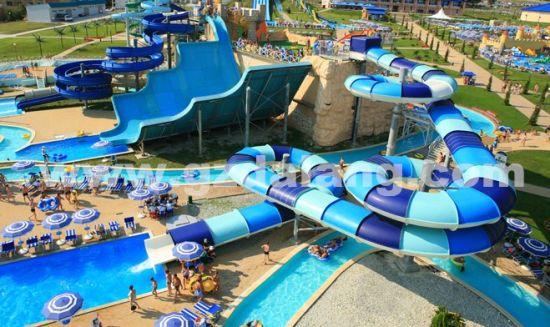 Magic Tunnel Water Slide, Amusement Park Slide