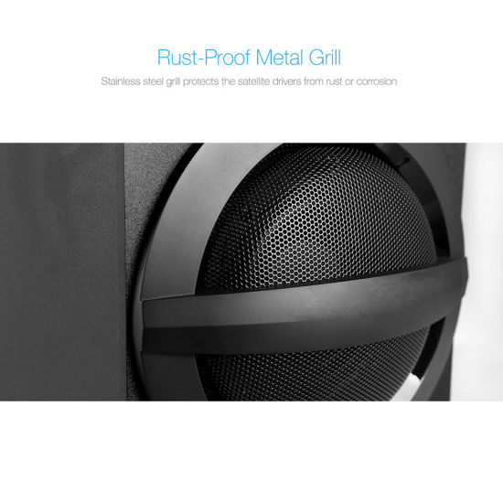 China New Arrival 2 1 HiFi Home Audio Home Theater Subwoofer