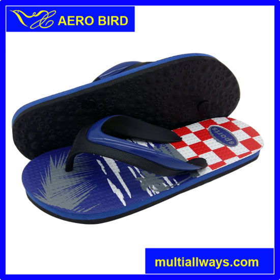 High Quality Trendy Men PE Slipper Sandal Shoes pictures & photos
