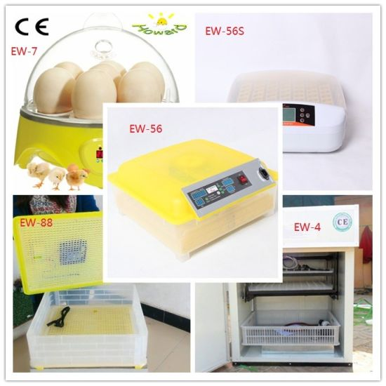 Popular Mini Automatic Cheap Poultry Egg Incubator Machine Hatching 56 Chicken Eggs pictures & photos
