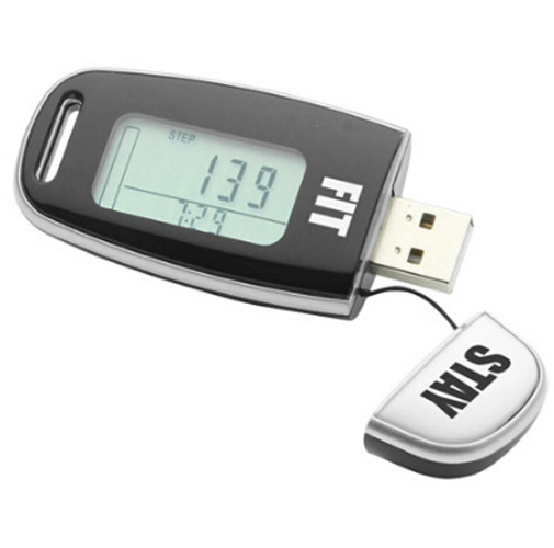 OEM New Design Portable Multi-Function Pedometer pictures & photos
