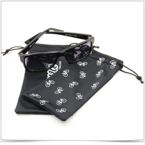 Promotional Microfiber Screen Printing Eyeglasses Pouch